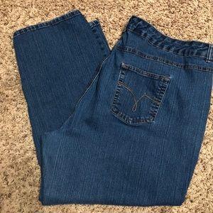 Just My Size Stretch Classic Denim Size 26W Short
